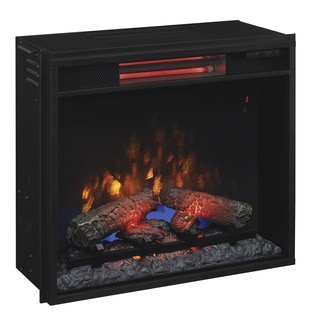 ClassicFlame 23II310GRA 23-inch Infrared Quartz Fireplace Insert with Safer Plug