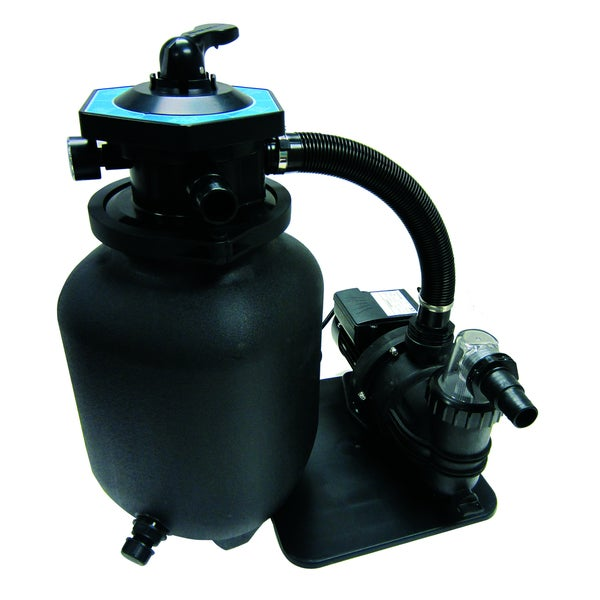 Smartclear 12 Inch Sand Filter System 0 3 Hp Free Shipping Today Overstock 17485193