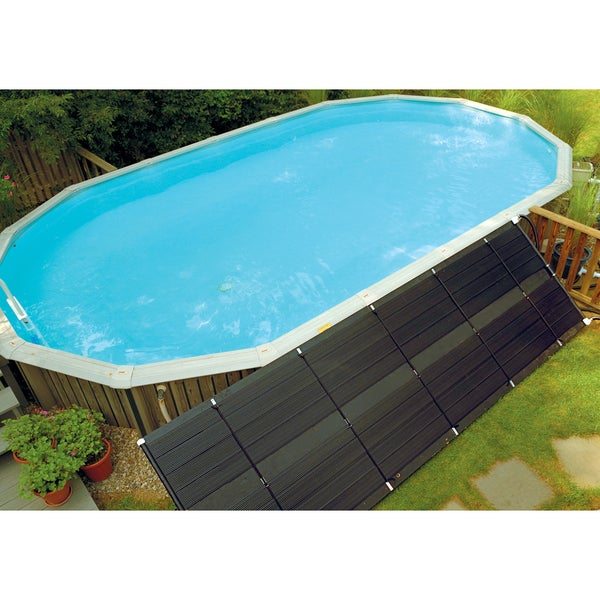 Shop Sunheater Universal 2 2 39 X 20 39 Solar Heating Panel For In Ground Or Above Ground Pool 80