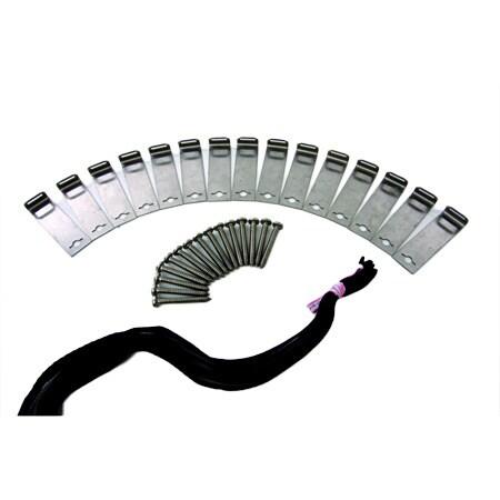 Smartpool Sunheater Mounting Kit for Roof or Rack, Black