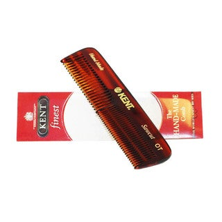 Kent The Hand Made Comb for Men Coarse/Fine 4 -inches Pocket Comb