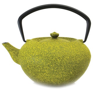 BergHOFF Studio 1.32-quart Lemon Cast Iron Teapot