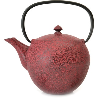 BergHOFF Studio 1.06-quart Red Cast Iron Teapot