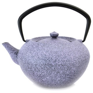 BergHOFF Studio 1.32-quart Purple Cast Iron Teapot