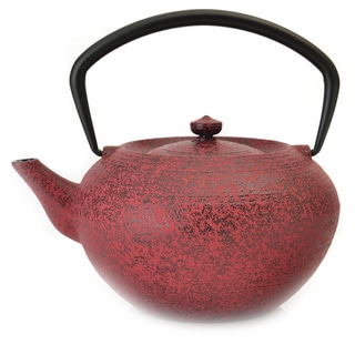 BergHOFF Studio 1.32-quart Red Cast Iron Teapot