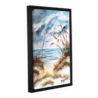 ArtWall Derek Mccrea 'Dunes 3' Gallery-wrapped Floater-framed Canvas