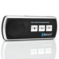 Black Acrylic Bluetooth Car Speakerphone Kit
