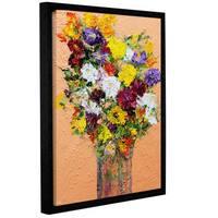 ArtWall Allan Friedlander 'Spring'S Delight' Gallery-wrapped Floater-framed Canvas