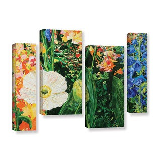 ArtWall Allan Friedlander 'Only Pick The Best' 4 Piece Gallery-wrapped Canvas Staggered Set