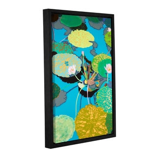 ArtWall Allan Friedlander 'Michelle'S Secret Pond' Gallery-wrapped Floater-framed Canvas
