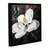 ArtWall Derek Mccrea 'Magnolia' Gallery-wrapped Floater-framed Canvas