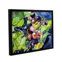 ArtWall Derek Mccrea ' Grape Vine' Gallery-wrapped Floater-framed Canvas