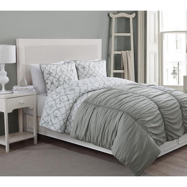 Grace 4-piece Comforter and Quilt Set