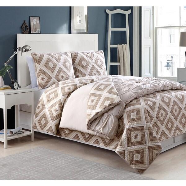 Darcy 4-piece Comforter and Quilt Set