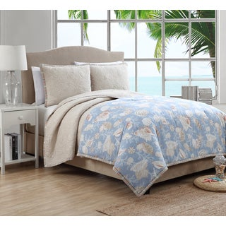 Montauk 4-piece Comforter and Quilt Set