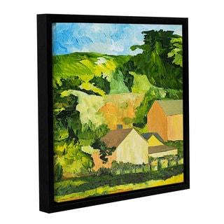 ArtWall Allan Friedlander 'Sonoma Home' Gallery-wrapped Floater-framed Canvas