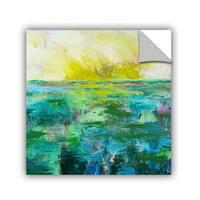 ArtAppealz Allan Friedlander 'Morning Dew' Removable Wall Art