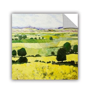 ArtAppealz Allan Friedlander 'Napa Yellow 2' Removable Wall Art
