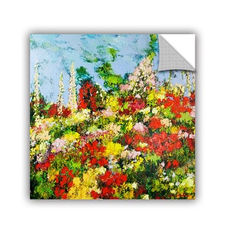 ArtAppealz Allan Friedlander 'Overgrown' Removable Wall Art