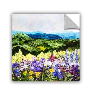ArtAppealz Allan Friedlander 'Pollinator'S Ravine' Removable Wall Art