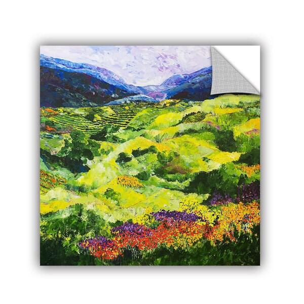ArtAppealz Allan Friedlander 'Soft Grass' Removable Wall Art