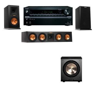 Klipsch RP-160M-E Monitor Speaker 3.1 PL-200 Onkyo TX-NR636