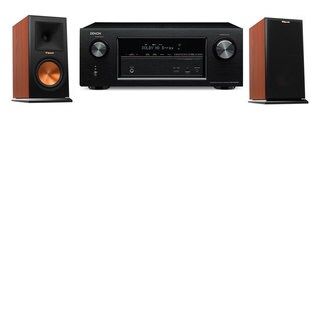 Klipsch RP-160M-CH Monitor Speaker Denon AVR-X2100W