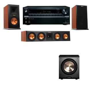 Klipsch RP-160M-CH Monitor Speaker 3.1 PL-200 Onkyo TX-NR636