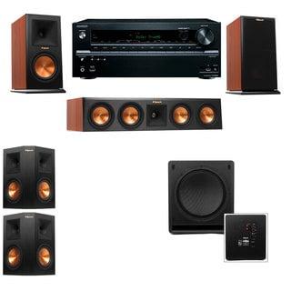 Klipsch RP-160M-CH Monitor Speaker 5.1 SW-112 Onkyo TX-NR636