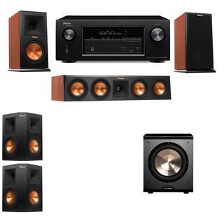 Klipsch RP-160M-CH Monitor Speaker 5.1 PL-200 Denon AVR-X2100W