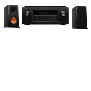 Klipsch RP-150M-E Monitor Speaker Denon AVR-X2100W