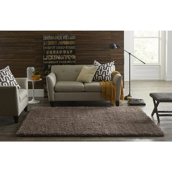 SPACES Home & Beyond by Welspun Beige Teddy Shag
