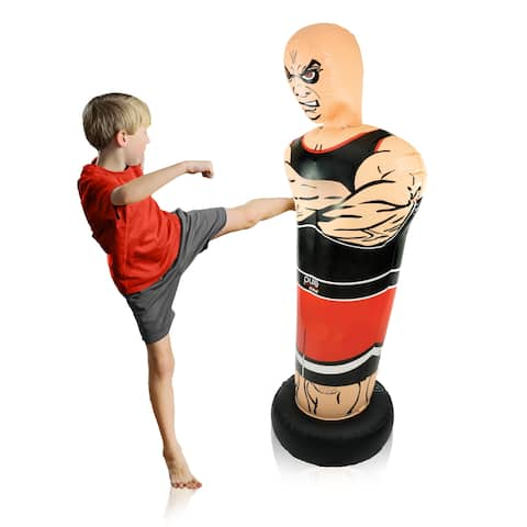 Pure Boxing Tough Guy Inflatable Punching Bag, Ages 4 to 10