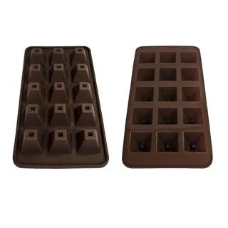 Silicone Pyramid Chocolate Mold|https://ak1.ostkcdn.com/images/products/10380642/P17485911.jpg?impolicy=medium