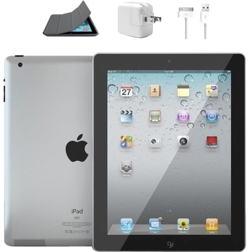 "Ereplacements ""Apple iPad 2 - 9.7"" Touchscreen, 16GB, WIFI, Black"""