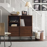 Carson Carrington Clarence Media Bookshelf Console