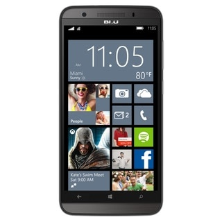 BLU WIN HD LTE 5.0 X150Q Unlocked GSM 4G LTE Dual-SIM Windows Phone