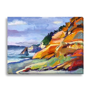 Gallery Direct Maxine Shore 'Oregon Coast' Oversized Canvas Gallery Wrap