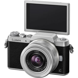 Panasonic Lumix DMC-GF7 Mirrorless 12-32mm (Silver)