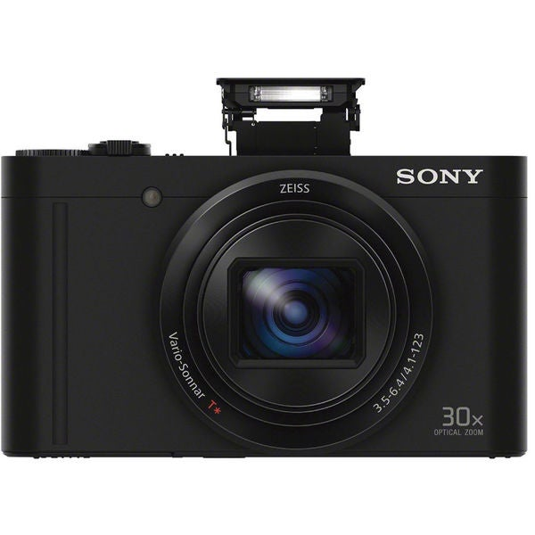 Sony Cyber-shot DSC-WX500 Digital Camera (Black)