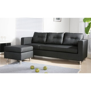 Caius Faux Leather Versatile Sofa Set