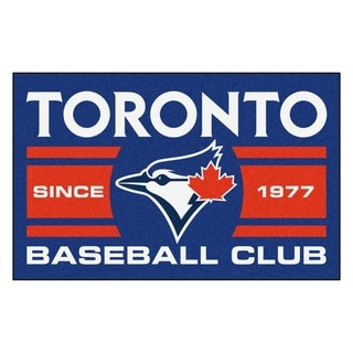 Fanmats Toronto Blue Jays Blue Nylon Uniform Inspired Stater Rug (1'6 x 2'5)