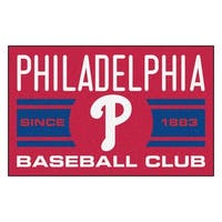 Fanmats Philadelphia Phillies Red Nylon Uniform Inspired Stater Rug (1'6 x 2'5)