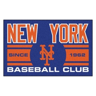 Fanmats New York Mets Blue Nylon Uniform Inspired Stater Rug (1'6 x 2'5)
