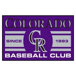 Fanmats Colorado Rockies Purple Nylon Uniform Inspired Stater Rug (1'6 x 2'5)|https://ak1.ostkcdn.com/images/products/10383268/P17488210.jpg?impolicy=medium