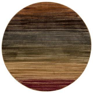 Nourison Paramount Multicolor Round Rug (5'3 x 5'3)
