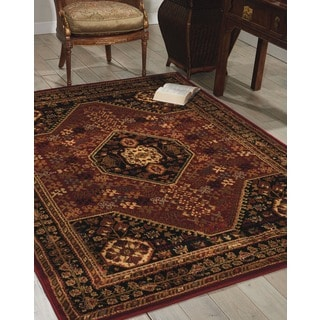 Nourison Paramount Red Rug (7'10 x 10'6)