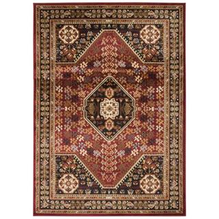 Nourison Paramount Red Rug (5'3 x 7'3)