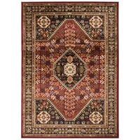 Nourison Paramount Red Rug - 5'3 x 7'3