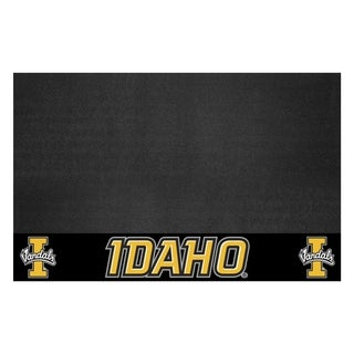 Fanmats University of Idaho Black Vinyl Grill Mat 2'2 x 3'5)